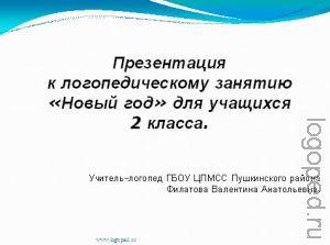 Презентация 'Cлогоритмические схемы слов'.