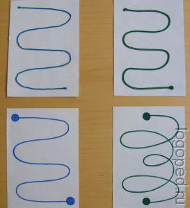Дидактическое упражнение 'Звуковые   волны'. Фото 1.