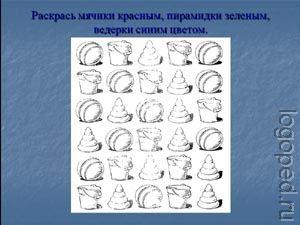 Презентация Развитие оптико-пространственного   восприятия