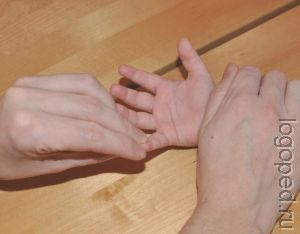 Массаж кистей рук. Рис.22