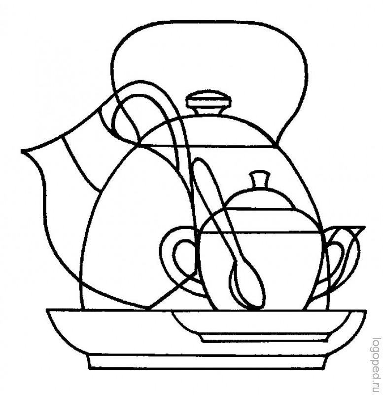 картинки наложения посуда форма