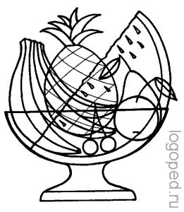 Логопедические упражнения для развития зрительно-пространственных   представлений 2.