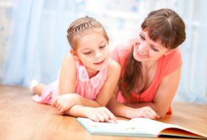 Обучение чтению без насилия над ребенком.