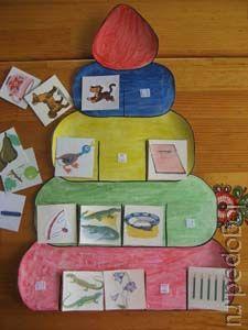 Логопедические игры. Пирамидка.
