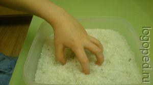 Комплекс пальчиковой гимнастики и игр в сухой   морской соли.